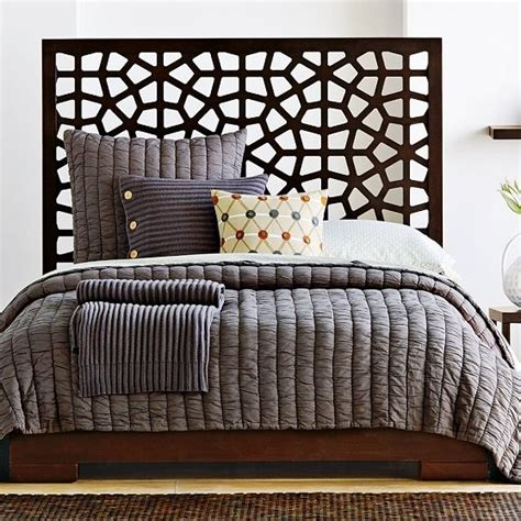 morocco headboard west elm morocco headboard for the home pinterest