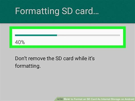 how to format sd card on android how to format an sd card as storage on android 9 steps