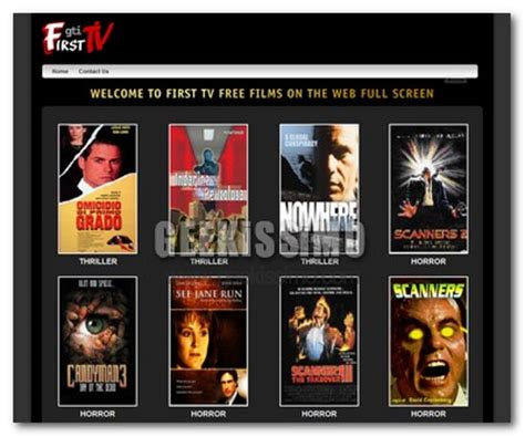 film gratis tv streaming first tv film in streaming in italiano gratis geekissimo