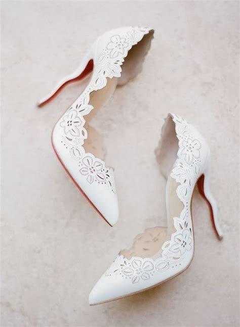 White Bridal Heels by Best 25 Wedding Heels Ideas On Wedding Shoes