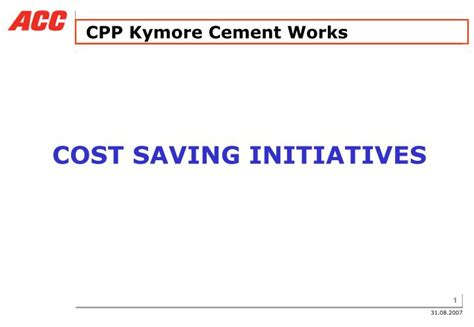 cpp housing login ppt cpp kymore cement works powerpoint presentation id 4412284