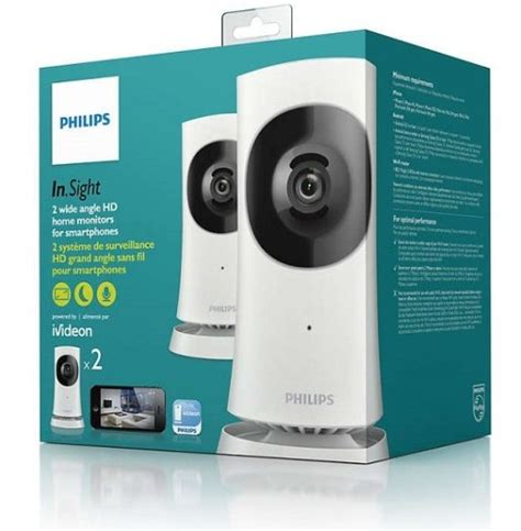 philips m120d10 insight home security wireless hd x