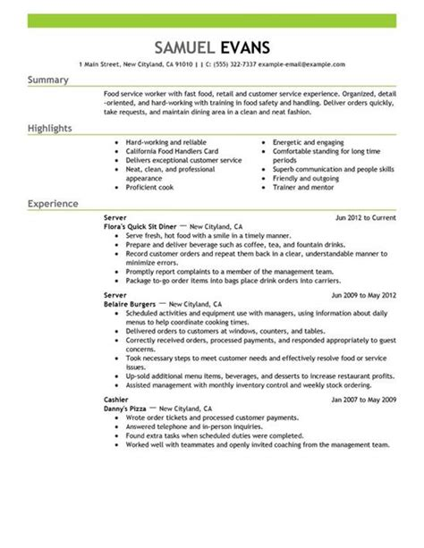 Exles Of A Customer Service Resume by How To Create An Impressive Customer Service Resume