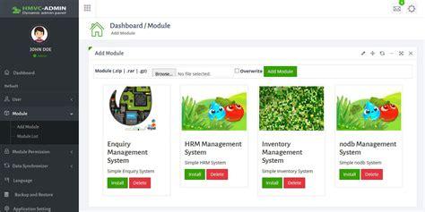 codeigniter modules tutorial hmvc dynamic admin panel by thememinister codecanyon