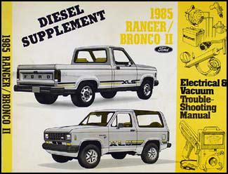 online service manuals 1985 ford bronco ii electronic toll collection 1985 ford ranger bronco ii repair shop manual original