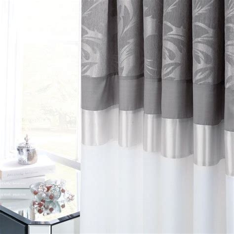 silver damask curtains damasks pencil and curtains on pinterest