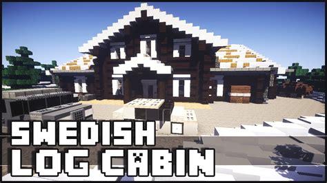 log cabin sweden minecraft epic swedish log cabin