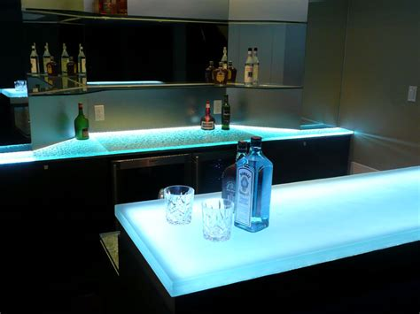 lighted bar tops glass bar top gb10 cbd glass