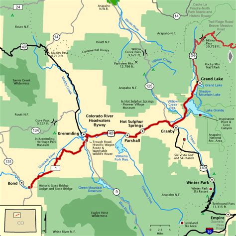 blue river colorado map images colorado river headwaters byway map america s byways