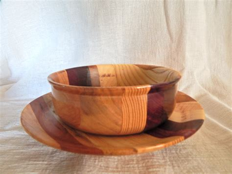 Handmade Plates And Bowls - made wooden small bowls and plates by spikeswoodcrafts