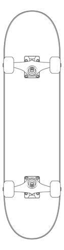 skateboard template vector skateboard by rafta666 on deviantart