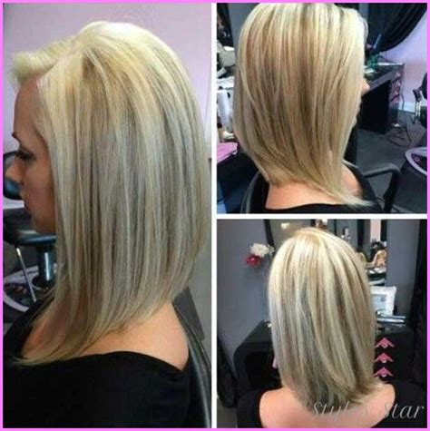 bob hairstyles longer back long bob haircut pictures front and back stylesstar com