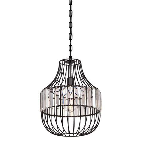 Matte Black Pendant Light Westinghouse 1 Light Matte Black Pendant 6106300 The Home Depot