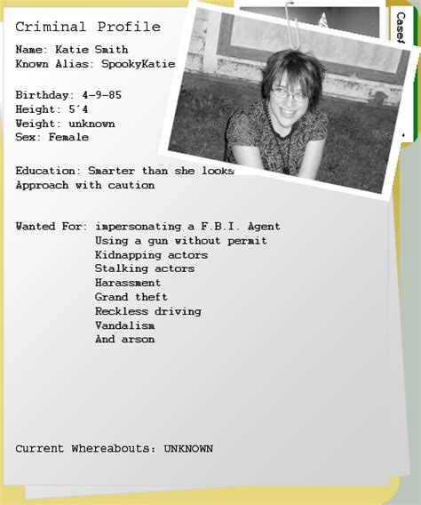 Cia Criminal Record Criminal Record Template Www Imgkid The Image Kid Has It
