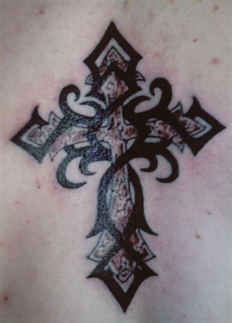 cross tattoo designs for back 75 cross tattoos