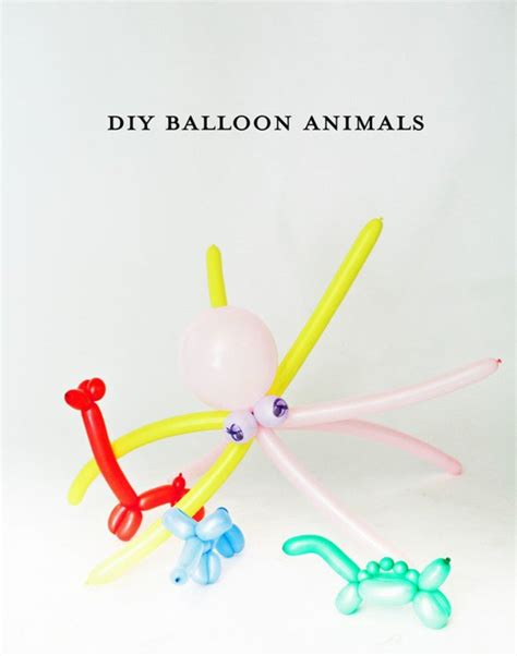balloon animals diy projects craft ideas how to s for home decor with videos