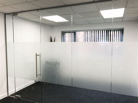 Glass Door Partition Glass Partitioning At Thoughtmix Lincoln Glass Partition With Glass Door