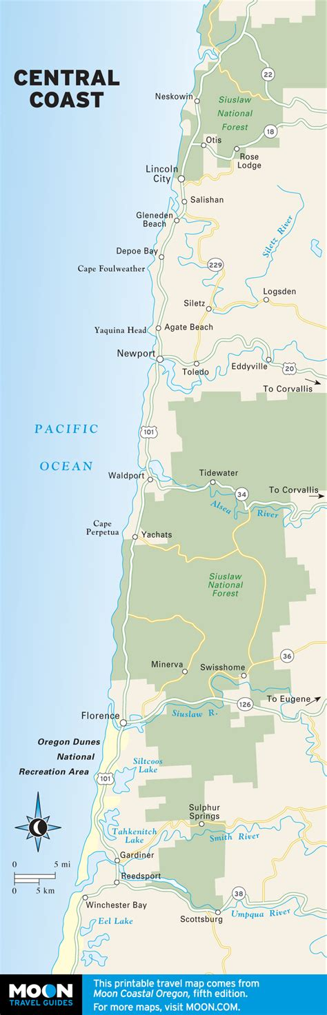 the best oregon coast beaches for surfing moon travel guides