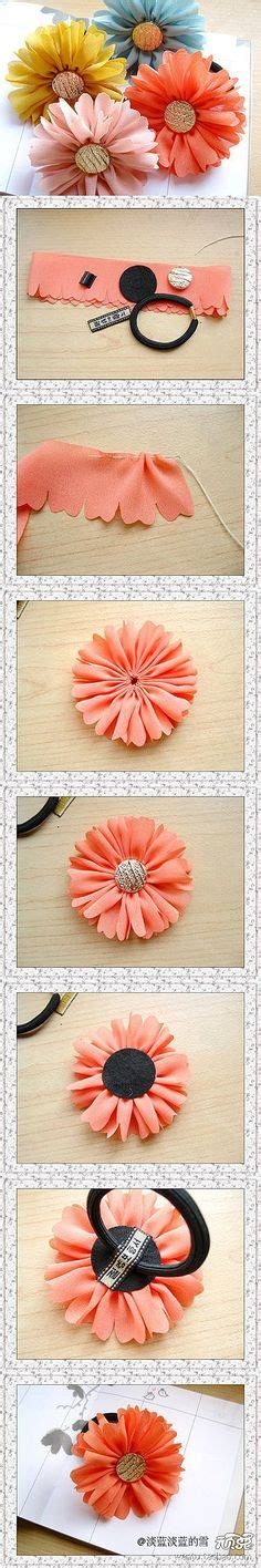 Handmade Accessories Tutorial - flower hair accessories on wreaths