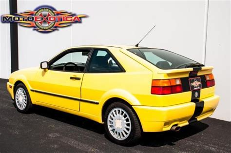 volkswagen corrado supercharged 1990 volkswagen corrado g60 supercharged classic