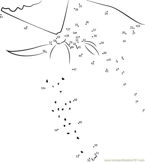 Tree Dot To Dot Coloring Pages Connect The Dots Cucumber Hanging In Tree Vegetables by Tree Dot To Dot Coloring Pages