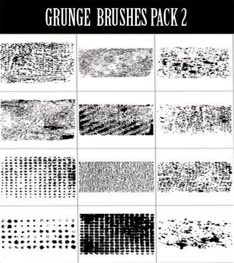 grunge pattern brush 580 vectors brushes patterns and backgrounds only 37