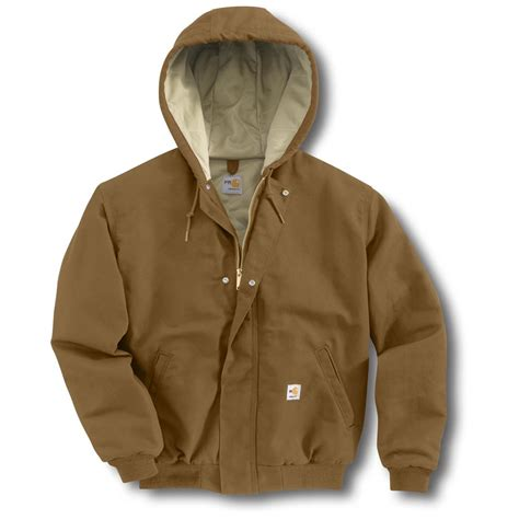 Carhartt Quilt Lined Jacket by S Carhartt 174 Resistant Quilt Lined Canvas