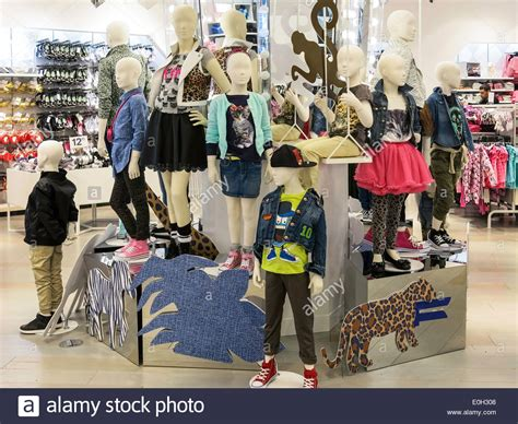 anthropologie store interior nyc stock photo royalty free image 60960993 alamy h m clothing store interior in times square nyc usa
