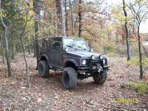 Suzuki Samurai Road Purchase Used Suzuki Samurai Road 4 Wheel Drive In