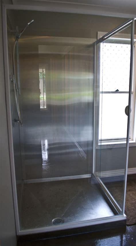 Stainless Steel Shower by Stainless Steel Shower Airstream
