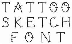 tattoo font converter online tattoo sketch font by embroidery patterns home format