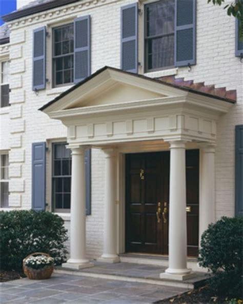 Front Door Pillars Door Pillars Home Exterior Design With Pillars Front Door Pillars Traditional Exterior Dc