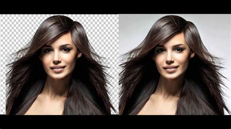 remove hair photo background  refine edge adobe