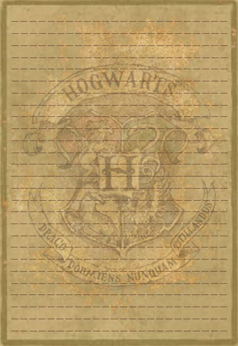 hogwarts crest stationery v1 by sinome rae d4c1p8g png