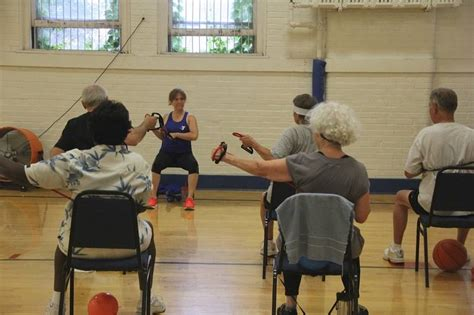 silver sneakers class silver sneakers helps keep seniors fit physically and mentally