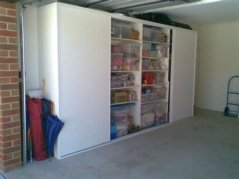 the garage door storage garage shelves with doors images
