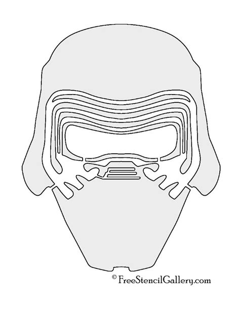 kylo ren helmet coloring page 17 best images about stencils on pinterest halloween