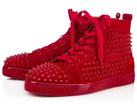 Color Trend 2017 by Perfectly Eyecatching Red Bottoms Shoes For Men