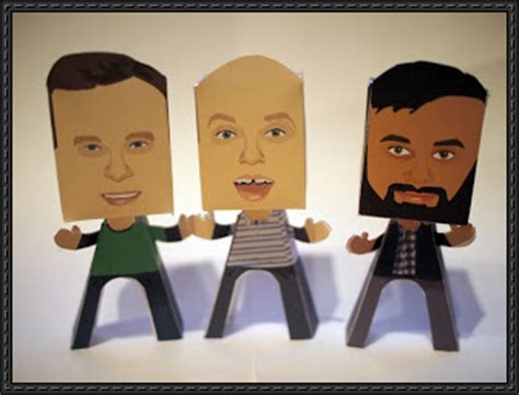 Human Papercraft - new paper model human paper free paper toys