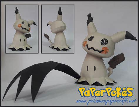 Mini Chibi Deoxys Defensespeed Forme paperpok 233 s pok 233 mon papercraft mimikyu happy