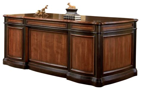 Gorman Furniture by Coaster Gorman Home Office Desk Two Tone Finish