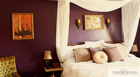 plum colors for bedroom walls creative mommas purple bedroom wall