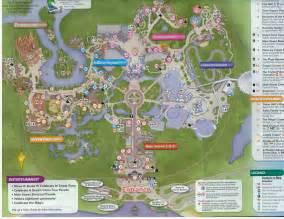 Walt Disney World Magic Kingdom Map by Gnome De Plume Walt Disney World Magic Kingdom Rides