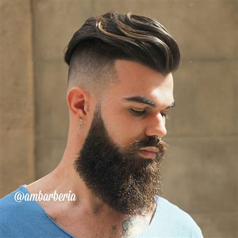 Beard And Undercut Hairstyles | undercut hairstyle with beard www pixshark com images