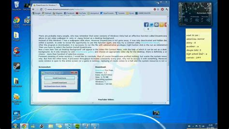 live wallpaper windows 7 youtube tutorial how to make a moving live wallpaper on windows