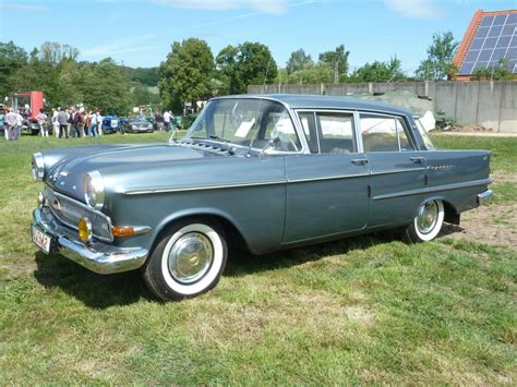 1960 Opel Kapitan Photos Informations Articles