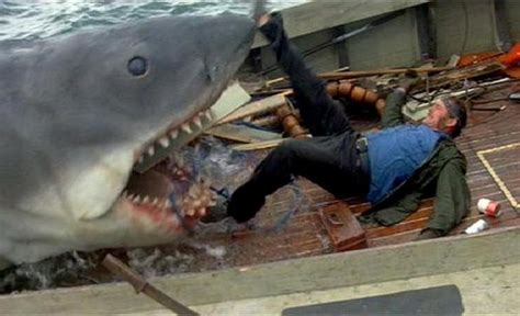 Kaos Keren Jaws 1975 Shark Classic jaws 40th anniversary steven spielberg all time classic syfywire