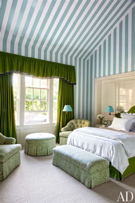 morrone interiors move over white walls colored stripes traditional bedroom by miles redd by architectural digest