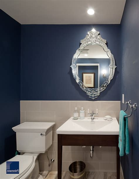 benjamin moore electric blue pleasing benjamin moore electric blue with venetian mirror