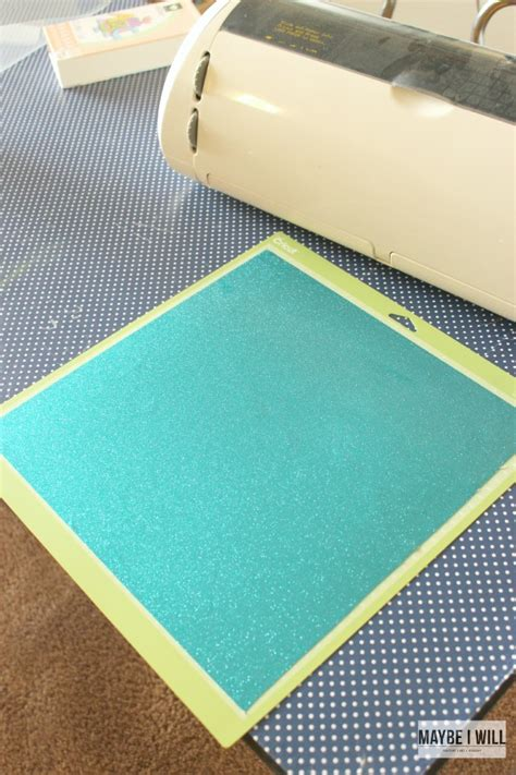 Vinyl Cutting Mat by Teaching To Give Maybe I Will
